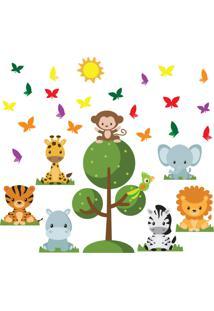 Adesivo De Parede Safari Baby Para Quarto Infantil