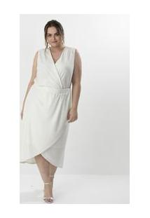 Body Liso Decote V Curve & Plus Size