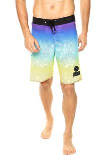 Bermuda Água Hang Loose Gradient Multicolorido