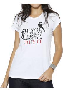 ... Camiseta Polo Factory Buy It Branco 92d674dcee7df