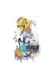 Painel Adesivo De Parede - Guitarra - Música - 1643Png