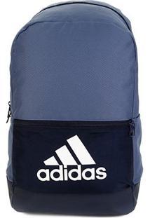 Mochila Adidas Clas Bp Bos - Unissex-Azul+Branco