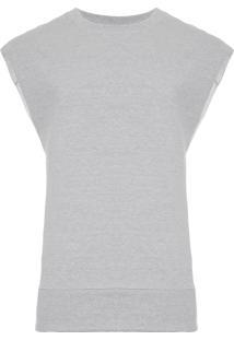 Colete Masculino Fleece E-Basics - Cinza
