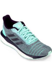 Tênis Adidas Solar Glide Boost Feminino - Feminino-Cinza+Verde