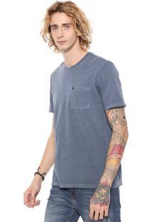 Camiseta John John Pocket Basic Azul