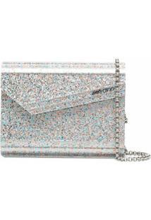 Jimmy Choo Candy Crossbody Bag - Cinza