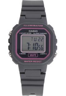 Relógio Casio La-20Wh-8Adf Cinza
