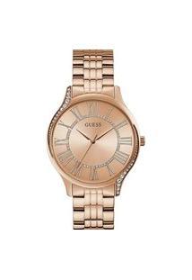 Relógio Analógico Guess Feminino - Gw0024L3 Rosa