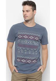 Camiseta Rusty Esp Aztek Masculina - Masculino