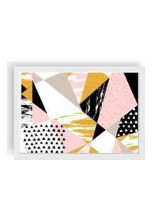 Quadro Love Decor Decorativo Com Moldura Geometric