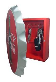 Porta-Chave Urban Coca-Cola Tampinha - Vermelho