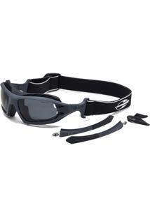 Óculos De Sol Mormaii Floater Kit Fosco - Masculino-Chumbo