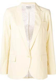 Zadig&Voltaire Blazer Fashion Show Boyfriend - Amarelo