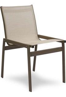 Cadeira Pool Para Área Externa Tela Sintética Estrutura Alumínio Eco Friendly Design Scaburi