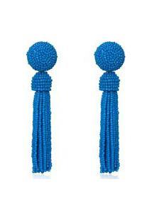 Brinco Le Diamond Zulai Azul