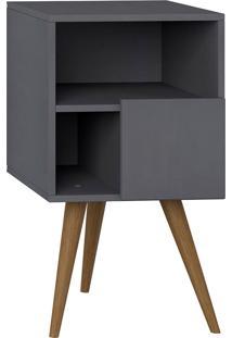 Mesa De Cabeceira Retrô – Be Mobiliário - Espresso