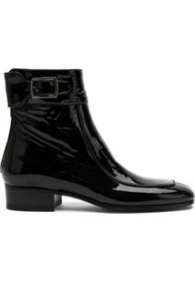 Saint Laurent Bota Miles - Preto