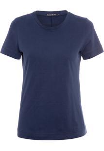 Blusa Feminina Pregas - Azul