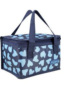 Bolsa Térmica Animal- Azul Marinho & Azul- 22X14X14Cjacki Design