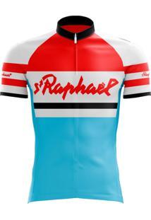 Camisa Uv Scape St Raphael Retro Geminiani Azul