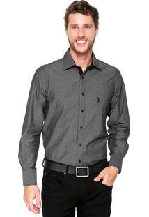 Camisa Aleatory Comfort Cinza