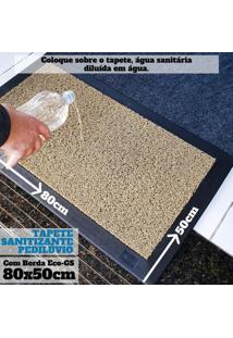Tapete Pedilúvio Sanitizante Com Bordas Eco-Gs 80X50Cm