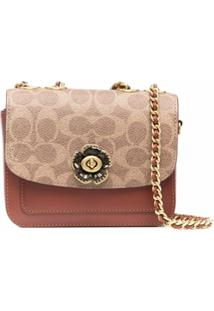 Coach Madisson Monogram-Print Tote Bag - Marrom