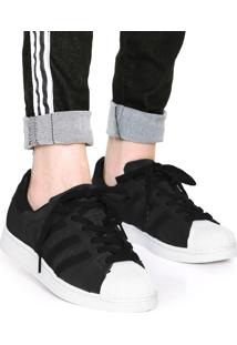 Dafiti. T�nis Adidas Originals Superstar Preto/Branco
