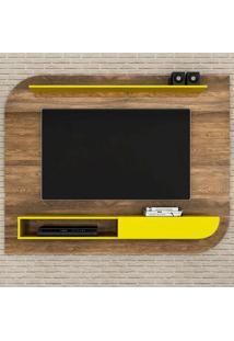 Home Suspenso Angra - Colibri Móveis Canela Rústico/Amarelo
