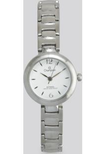 Relógio Analógico Champion Feminino - Ca28136Q Prateado