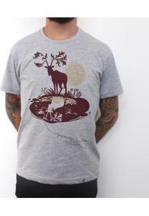 Deer - Camiseta Clássica Masculina