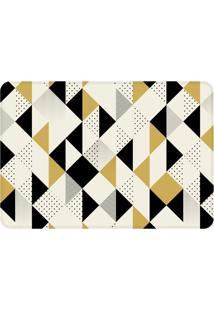 Tapete Love Decor De Sala Wevans Multi Triângulos Amarelos