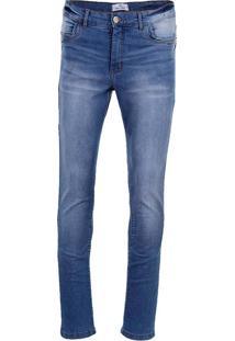Calça Jeans Slim Masculina Hamy