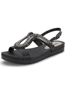 Sandália Feminina Flat Dakota - Z5162 Preto 34