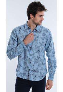Camisa Masculina Ml Yachtmaster Floral
