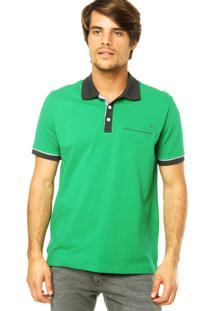 Camisa Polo M. Officer Verde