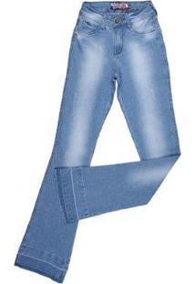 Calça Jeans Rodeo Western Flare Feminina - Feminino