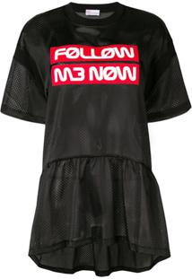 Red Valentino Blusa 'Follow Me Now' - Azul