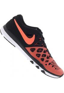 Tênis Nike Train Speed 4 - Masculino - Preto/Laranja Esc