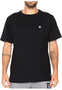Camiseta Dc Shoes Especial Dyed Pocket Preta