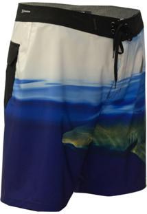 Bermuda Água Hurley Phantom Azul Marinho