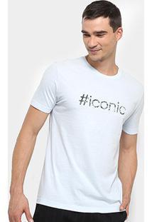 Camiseta Calvin Klein Regular Frase No Verso Masculina - Masculino-Off White