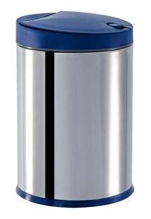 Lixeira Brinox Com Tampa Press 3050/262 Em Inox - 4 L