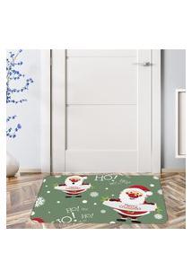 Tapete De Natal Para Porta Merry Christmas Ho Ho Ho Único