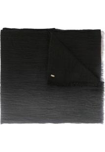 From The Road Cachecol 'Pavana' Degradê De Cashmere - Preto