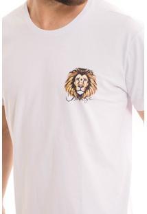 Camiseta Osmoze Leão Branca