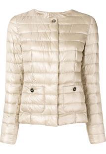 Herno Padded Overshirt Jacket - Neutro