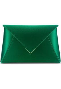 Tyler Ellis Clutch Lee Pouchet Pequena - Verde