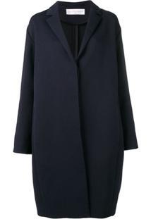 Victoria Victoria Beckham Sobretudo Com Laço Posterior - Azul