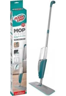 Vassoura Mágica Esfregáo Mop Spray Com Refil- Flash Limp - Tricae